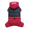 SMALL DOG - Snowboarder Doggy Onesie Red