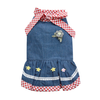 SMALL DOG - Spring Doggy Dress Denim