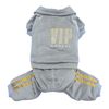 SMALL DOG - VIP Doggy Onsie Silver