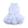SMALL DOG - Lily White Formal Doggy Dress