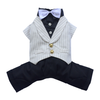 SMALL DOG - Doggy Tuxedo White Jacket Suit