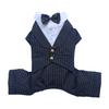 SMALL DOG - Doggy Tuxedo Pin Stripe Suit