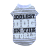 BIG DOG - Coolest Dog Grey T Shirt