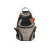 Small Weatherproof Doggy Backpack - Taupe