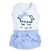 SMALL DOG - Blue Little Dolly Dress