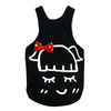 SMALL DOG - Black Little Dolly Tank Top