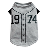 THICK DOG - Doggy Baseball T Shirt Grey