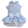 SMALL DOG - Bo-Peep Doggy Dress Blue Stripe