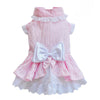 SMALL DOG - Bo-Peep Doggy Dress Pink Stripe