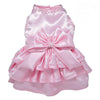 SMALL DOG - Glamorous Musk Satin Doggy Dress