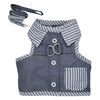 SMALL DOG - Grey Doggy Harness