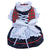 THICK DOG - Doggy Dirndl White Bow