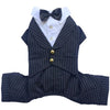 BIG DOG - Doggy Tuxedo Pin Stripe Suit