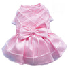 SMALL DOG - Girly Pink Formal Doggy Dress