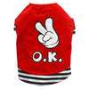 THICK DOG - OK OK OK Red Doggy T Shirt