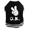 THICK DOG - OK OK OK Black Doggy T Shirt