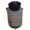 THICK DOG - Snowboarder Doggy Jacket Lux Beige & Black