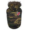 SMALL DOG - Padded Camo Doggy Jacket