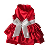 SMALL DOG - Ruby Red Doggy Dress