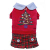 SMALL DOG CHRISTMAS- Christmas Girl Doggy Dress