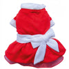 SMALL DOG CHRISTMAS- Mrs Claus Doggy Dress