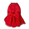SMALL DOG - Cherry Red Doggy Dress ( Sleeveless )