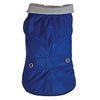 SMALL DOG - Royal Blue Fleeced Rain Jacket