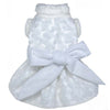 SMALL DOG - Snowflake Wedding Doggy Dress