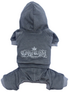 SMALL DOG - Copy Right Grey Doggy Onesie