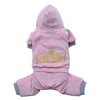 SMALL DOG - Copy Right Pink Doggy Onesie