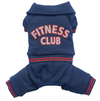 SMALL DOG - Doggy Fitness Club Navy Onesie