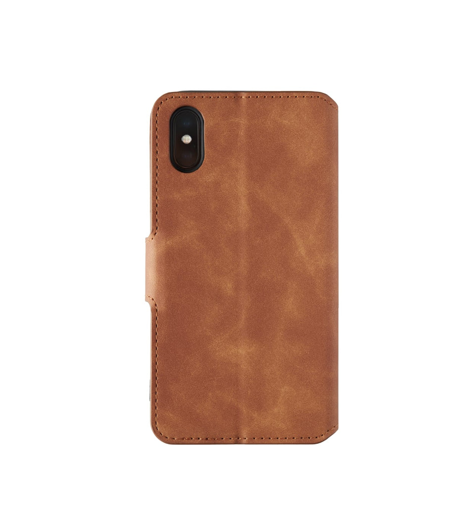 iPhone X leather wallet case with cards