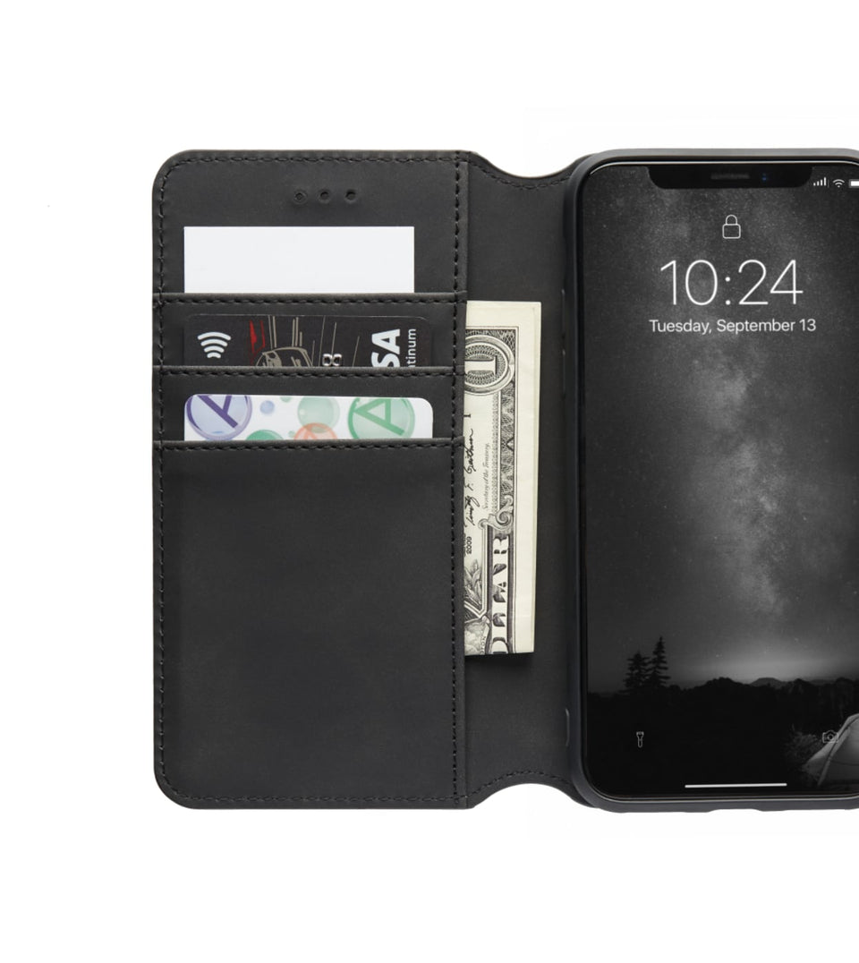 open view wallet case for iPhone X XS