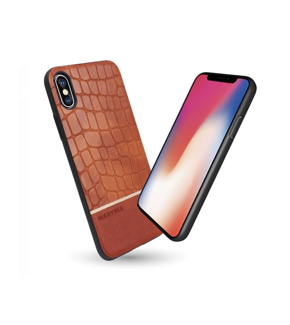 iphone x case leather