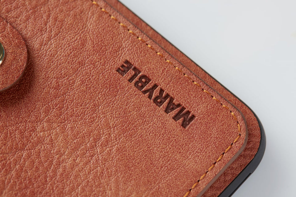 iPhone X XS leather card holder case