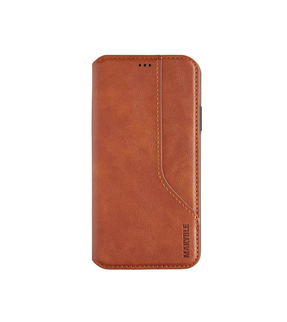flip leather case with card holder for iPhone X XS