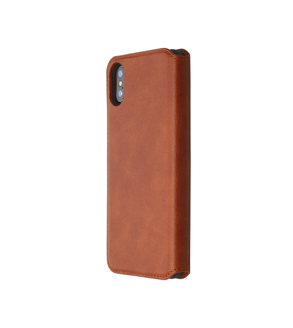 flip leather card case for iPhone X XS
