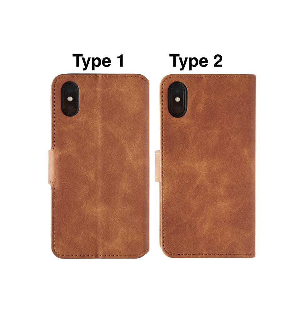 iPhone XS vs iPhone X wallet leather card cases