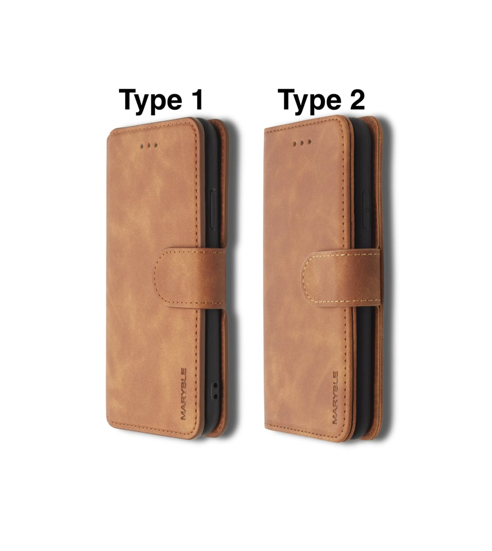 iPhone XS vs iPhone X wallet cases side view