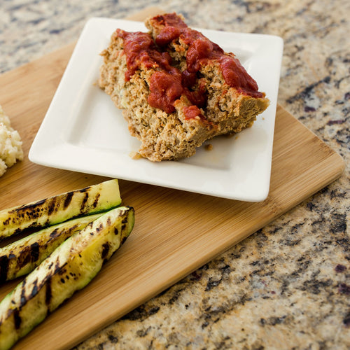 Turkey Meatloaf with Chipotle Mole Sauce VM