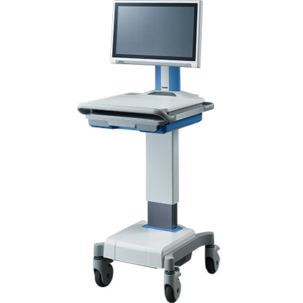 Advantech Mobile Medical Cart with the Motor Lifter to Adjust Height Electrically - AMiS-50E