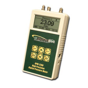 Digital Press/Vac Meter - Dual Range Optional - +/-0.05% Full Scale - DPM-2200 Series