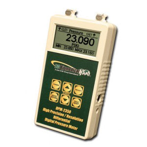 Digital Press/Vac Meter - Differential - +/-0.05% Full Scale - DPM-2350 Series