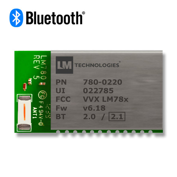 LM Technologies Bluetooth® Module Class 2 with Onboard Antenna – LM780