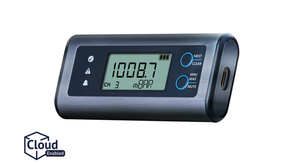 Lascar EasyLog Temperature Data Logger with Display - EL-SIE-6+