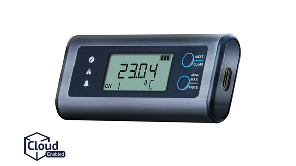 Lascar EasyLog Temperature Data Logger with Display - EL-SIE-1+