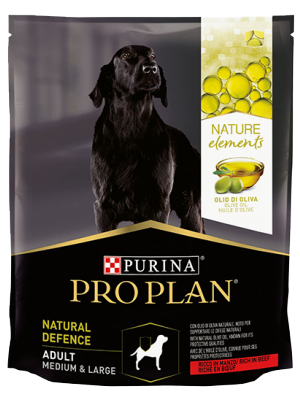 PURINA® PRO PLAN® NATURAL DEFENCE ADULT MEDIUM & LARGE Manzo 2kg