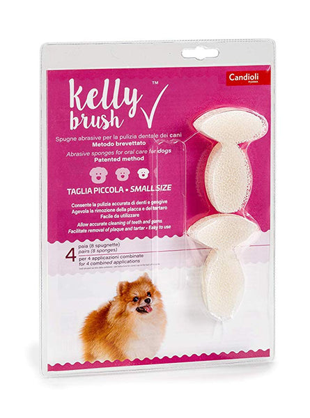 Kelly Brush confezione da 4 PAIA small