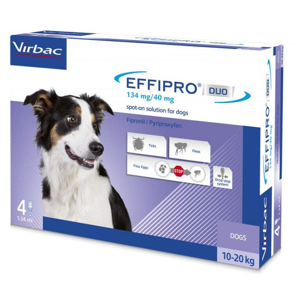 Virbac Effipro Spot-On Cani da 10 a 20kg