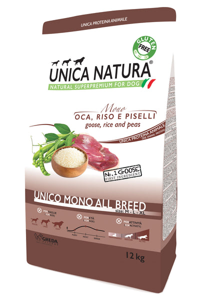 Unico All breed mono - Maiale 2,5kg